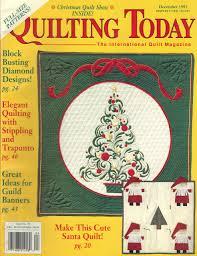 Cheap Quilt Magazine Patterns, find Quilt Magazine Patterns deals ... & ... QUILTING TODAY magazine December 1993 Issue 39 (The International Quilt  Magazine, Quilts, Patterns Adamdwight.com
