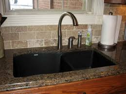 kitchen sinks for granite countertops. Groß Kitchen Sinks With Granite Countertops Inspiring Black Sink Countertop And Glass Windows For O