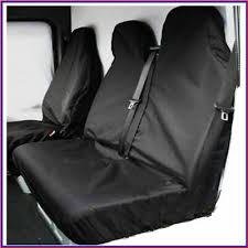 red waterproof van seat covers