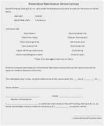 Maintenance Agreement Awesome 48 Prettier Ideas Of Computer Maintenance Contract Agreement Sample