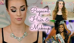 beauty pageant hair makeup tutorial miss usa inspired ellie dalton you