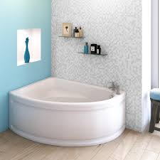 offset corner bath and bath panel left hand and right hand