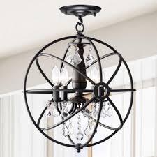 chandelier astonishing iron orb chandelier ideas orb ideas for you