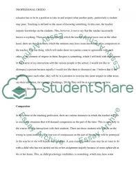 professional credo essay example topics and well written essays professional credo essay example