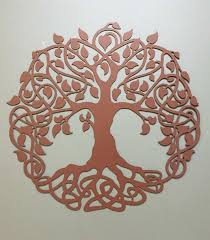 irish wall decor fresh tree of life industrial metal wall art celtic by alkemymetal