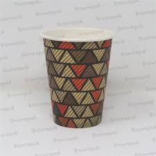 Disposable Paper Cup, Size: 12oz (350ml) Single Wall, Rs 2.25 ...