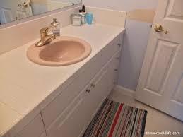 bathroom modest replacing bathroom on glamorous a sink diy countertop home replacing bathroom