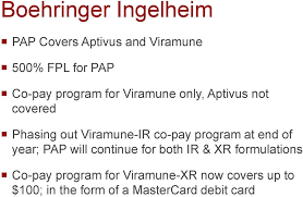 program at end of year pap will continue for both ir xr formulations co