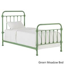 Giselle II Twin Metal Bed iNSPIRE Q Modern - Free Shipping Today -  Overstock.com - 20994612