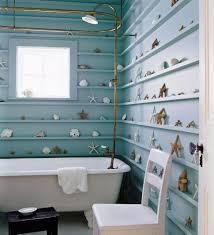 country blue bathroom decor toilet in light brown tile wall floor dark grey painted bathroom wall