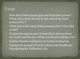 study guide and the influenced greek history  how did greek tyrants gain and keep their power