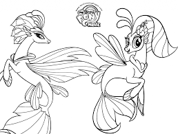 Coloring Page Free Printable My Little Pony Coloring Pages For