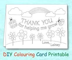 Penguin Holiday Thank You Card Free Printable Coloring Pages Cards