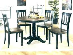 grey dining room chairs black table sets wood set round wooden of 6
