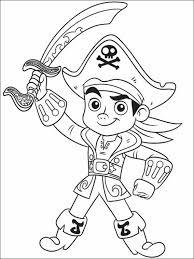 Jake En De Nooitgedachtland Piraten Kleurplaten Printen 16