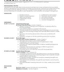 Great Sample Resume Sample Of Great Resume Resume Sample Of A Resume Cover Letter