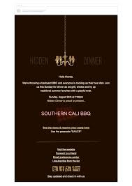 corporate dinner invite 4 event invitation emails that draw crowds campaign monitor