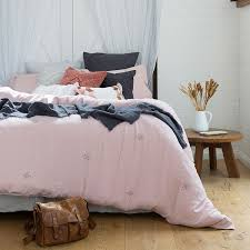 ana single bed pink quilt cover set by bambury