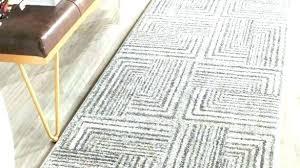 interesting runner ft 12 rugs foot courtyard 2 x rug
