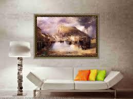 print on metal print on acrylic group set of oil paintings group set of prints on canvas group set of textured prints