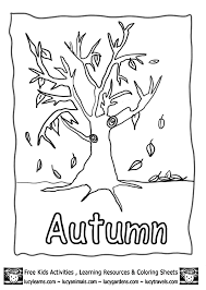 Small Picture Free Fall Tree Coloring Pages Aquadisocom