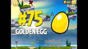Angry Birds Seasons Summer Camp Golden Egg #75 Walkthrough - YouTube