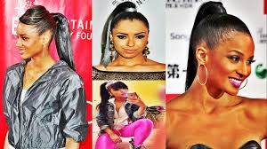 Quick Ponytail Hairstyles Quick Weave Ponytail Hairstyles With Highlight For African