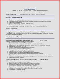 Cna Resume Templates Mesmerizing Objective For Certified Nursing Assistant Resume Cover Letter