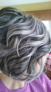 highlights and lowlights for gray hair cool highlights and lowlights for gray hair
