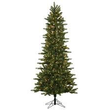 Vickerman 308547 144 Kennedy Slim Fir Tree With 1600 Clear