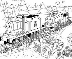 Small Picture Thomas Train Printables Thomas The Train Preschool Coloring