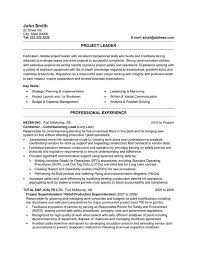 Click Here to Download this Engineering Project Leader Resume Template!  http://www