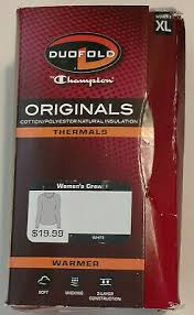 Duofold Womens Mid Weight Wicking Thermal Shirt 19 49