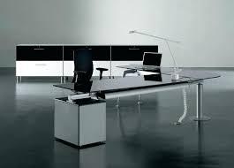 contemporary glass office furniture. Modern Glass Office Desk Computer Desks Black Furniture Contemporary E