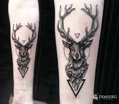 Deer Dotwork Tattoo By Masachist Tatuaże Inspiracje Tatuaże