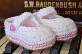 Crochet Baby Booties Pattern 3 6 Months Beauteous Knotty Knotty Crochet Pretty Plain Little Mary Jane FREE Crochet
