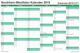 Find & download free graphic resources for calendar 2021. Kalender 2019 Nordrhein Westfalen