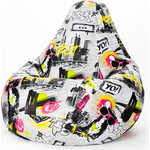 Купить <b>Кресло</b>-<b>мешок Пуфофф</b> Dogs Art XL недорого в интернет ...