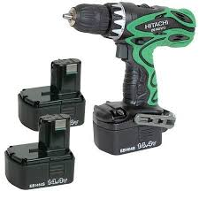 hitachi cordless drill. hitachi ds14dvf3-jd cordless drill-driver drill