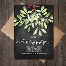 Christmas Party Invitations | Woods And Fairy