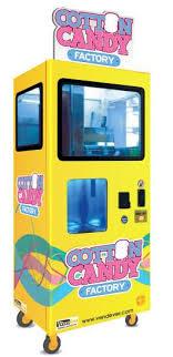 Cotton Candy Vending Machine Adorable Cotton Candy Factory Cotton Candy Vending Machine From VendEver