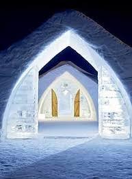 Résultat image pour images hotel de glace de québec