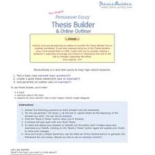 thesis creator  pearltrees tom march  thesis builder  the original persuasive essay…