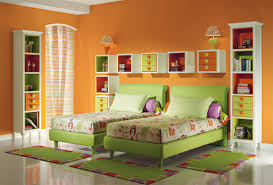 lovely children bedroom furniture design. lovely green twin kids bedroom furniture sets combined with bright white high storage and cute wall drawers beautify the girls children design e