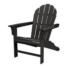 trex outdoor furniture hd patio adirondack chair in charcoal black black adirondack chairs e47