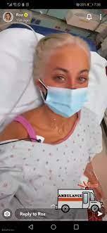 مودل روز تدخل المستشفى والطبيب يحذرها من فقدان حياتها - ليالينا