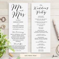 sample wedding program wording a checklist how to word your wedding programs wedding help