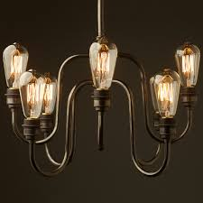 breathtaking round light bulbs for chandelier 16 with edison contemporary 8 bulb holophane shade in 29