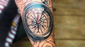 30 Compass Tattoos For Men Thatll Help You To Find The Right Direction