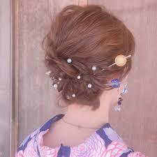 着物レンタルしたら髪型はどうする簡単セルフアレンジ方法と髪型の事例
